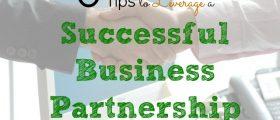 Successful Business Partnership , business partner