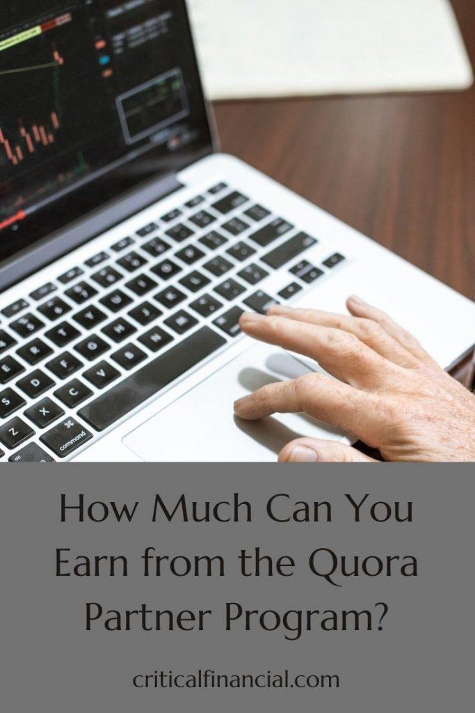 Earn from the Quora Partner Program